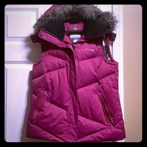 Columbia down Omni-heat puffer vest